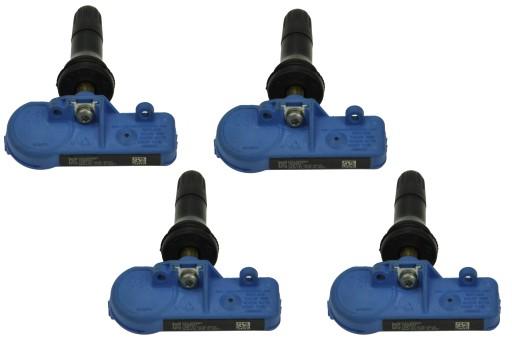 4 x датчики давления TPMS Opel Corsa 13581561