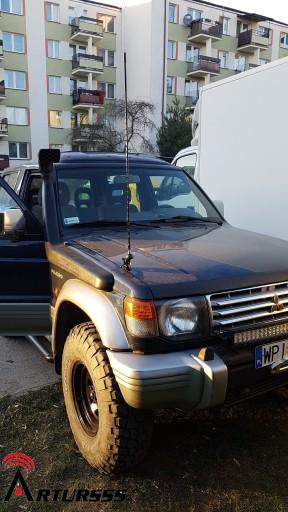 ANTENA CB Firestik FL3 + Diamond Nissan PATROL v.3