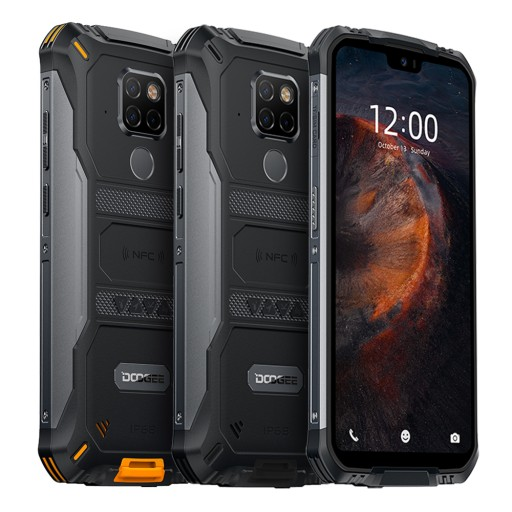 Doogee S68 Pro Smartfon czarny 6GB 128GB
