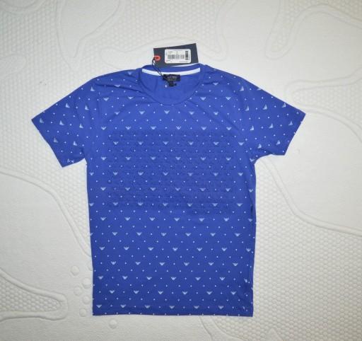 ARMANI JEANS T-SHIRT FAKTURA NOWY S 9409113655 Odzież Męska T-shirty JS MPSGJS-3