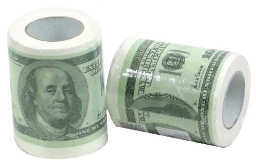 Papier Toaletowy Rolka Dollar Dolar 100 Usd Dolary 8417636678 Allegro Pl
