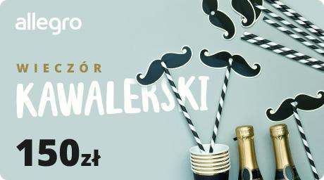 Karta Podarunkowa Wieczór Kawalerski - 150 zł