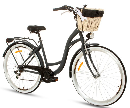 Damski Rower Miejski 28 Lekki Damka 7 Shimano Kosz 8846651089 Allegro Pl