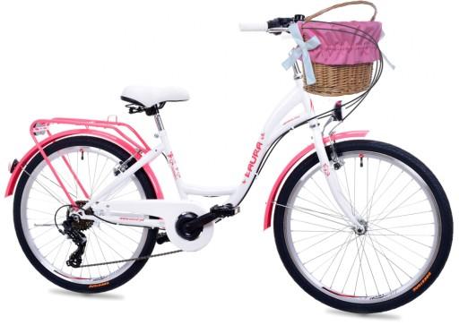 Dziewczecy Rower Miejski 24 Laura 6 Bieg Shimano 7679958206 Allegro Pl