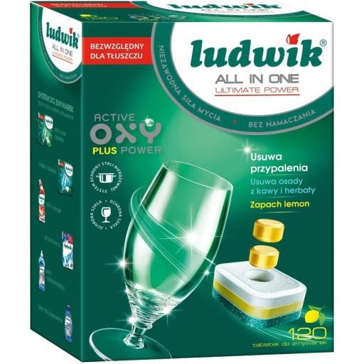 Tabletki do zmywarek Ludwik All In One 120 szt