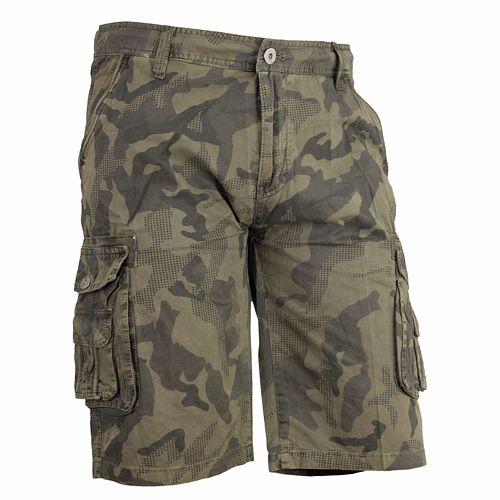 Spodnie bawełna krÓtkie spodenki ZQ230 CAMO 56 8242032717 Odzież Męska Spodenki MB RKVNMB-9