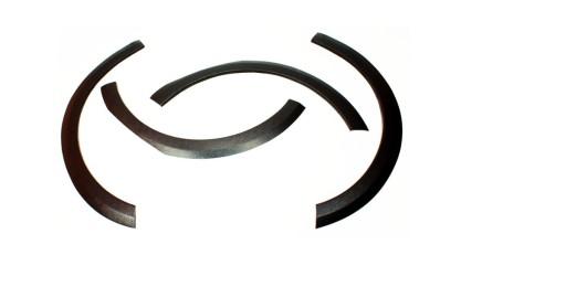 Blotnik nakładki błotnika KPL Opel Astra G KOMBI