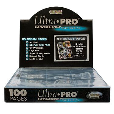 Strony do klasera PLATINUM karty 100 szt Ultra Pro
