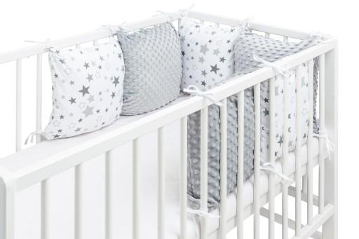 Ochraniacz Do łóżeczka Modułowy Poduszki Komplet