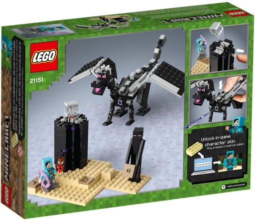 LEGO MINECRAFT Walka w Kresie 21151