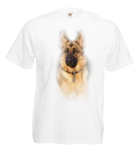 Koszulka męska Owczarek Niemiecki r XL 10175039314 Odzież Męska T-shirty NP XRFQNP-2