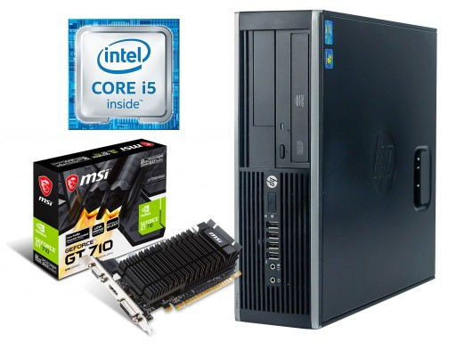 Komputer PC do gier HP Core i5 8GB RAM GeForce 2GB