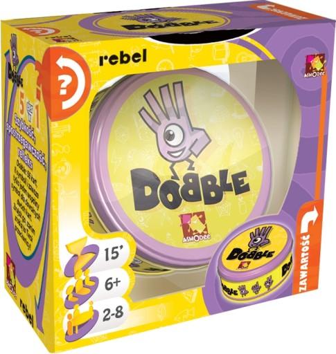 Dobble Doble Double Rebel Gra Planszowa Imprezowa 49 99 Zl 8176677810 Allegro Pl