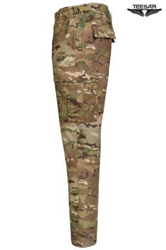 Wojskowe SPODNIE BDU RipStop SLIM FIT MULTICAM XXL 10171214627 Odzież Męska Spodnie PU KGQGPU-5