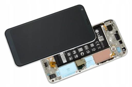 WYŚWIETLACZ LCD Dotyk Digitizer LG Q6 M700 + RAMKA