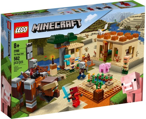 Lego Minecraft Najazd Zlosadnikow 21160 8838099160 Allegro Pl
