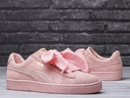 Buty, sneakersy damskie Puma Suede Heart 366056 03