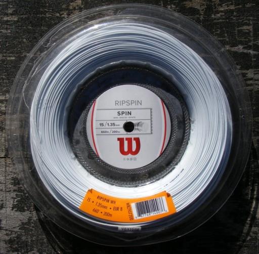 Naciąg tenisowy WILSON Ripspin 1,35 mm.