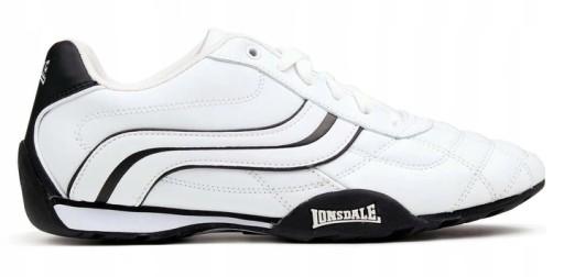 Buty LONSDALE CAMDEN LEATHER Skórzane Sneakersy