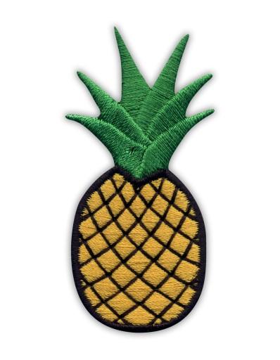 Naszywka - Ananas, Pineapple, owoc, haft
