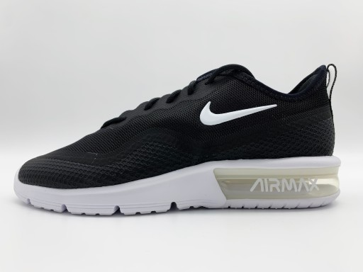 Kup Nike Air Max Sequent 4.5 Blackwhite czarny Buty Online