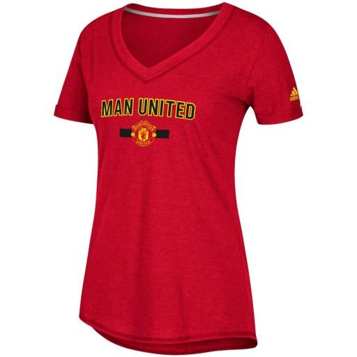 Czerwona koszulka damska Manchester United L