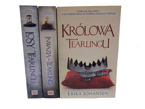 Erika Johansen - Królowa Tearlingu [NOWE*] 3 tomy