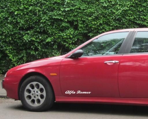 Naklejka Alfa Romeo 156 Gt 159 147 30x8cm 2szt Radom Allegro Pl