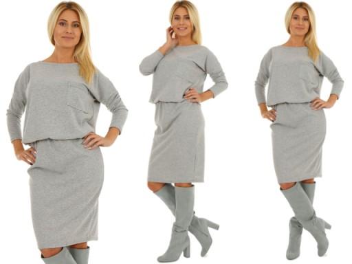 Ellos Delikatna Golebia Sukienka Letnia Nowa 42 44 6872264715 Oficjalne Archiwum Allegro Dresses Style Flower Dresses