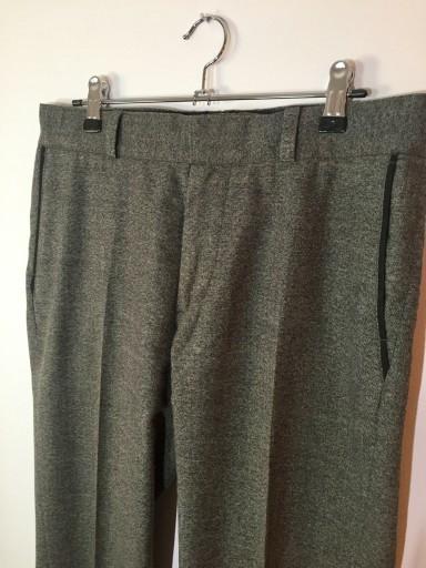 Szare spodnie H&M 46 10766372626 Odzież Męska Spodnie JC QLXDJC-8