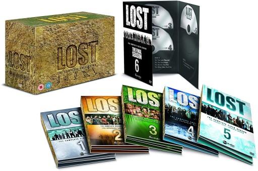 Zagubieni 1-6 (37 DVD) Lost: Sezony 1-2-3-4-5-6