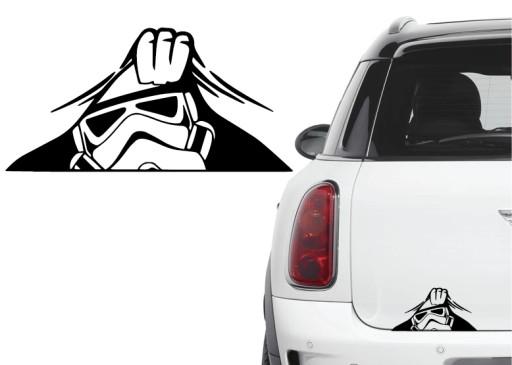 Naklejka na samochód Star Wars Stormtrooper