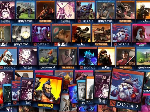 Karty Kolekcjonerskie Odznaki Steam: Pakiet x10