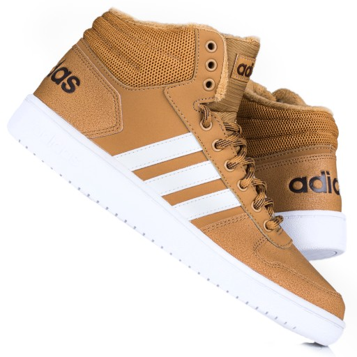 Buty męskie zimowe Adidas Hoops 2.0 MID EG5167
