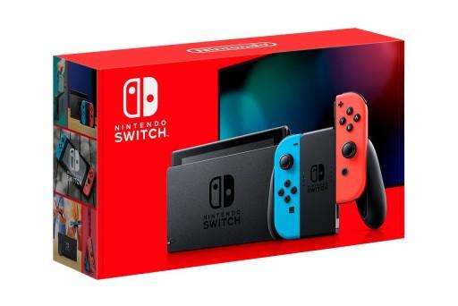 Nintendo Switch Red Blue MODEL v.2 2019 PL