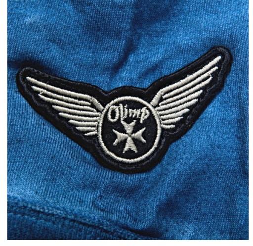 OLIMP MEN'S POLO LIVE FREE BLUE KOSZULKA POLO 10735444032 Odzież Męska Koszulki polo ON NSWPON-6