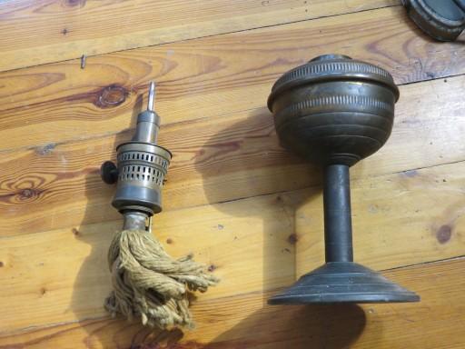 lampa ciśnieniowa brener Rusticus Pelikan pompka