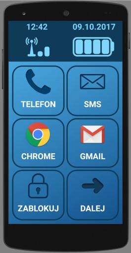 Smartfon Dla Seniora Telefon Dla Seniora Android 7553259631 Sklep Internetowy Agd Rtv Telefony Laptopy Allegro Pl