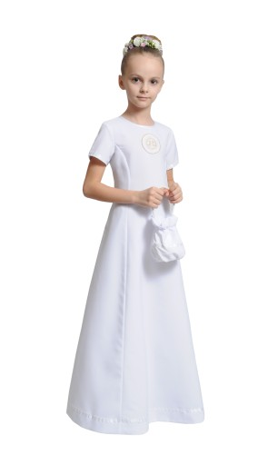 Sukienka Komunijna Na Miare Komunia Alba Torebka 7801797003 Allegro Pl