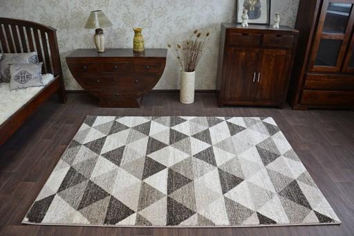 Dywany łuszczów Shadow 200x290 Trójkąty At1901