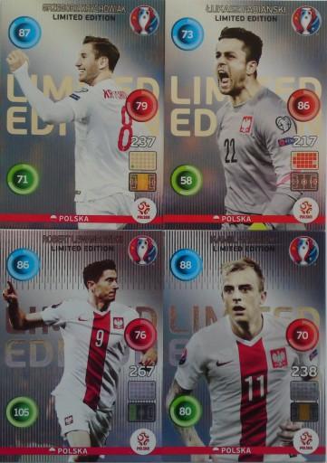 Euro 2016 4 Limited Lewandowski Fabianski Grosicki 8487831445 Allegro Pl