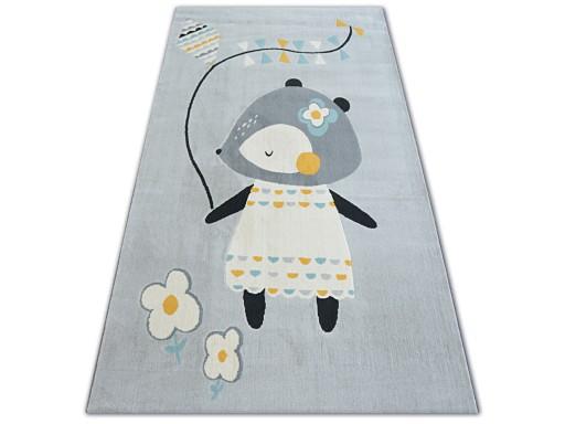 Dywany łuszczów Pastel 120x170 Myszka Szary B582