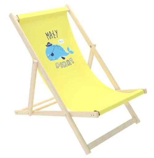 Ogrodowy Leżak Leżaczek krzesełko dla dziecka :) Zdjęcie