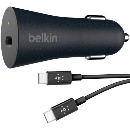 Belkin - Ładowarka samochodowa - USB-C - QC4+ 27W