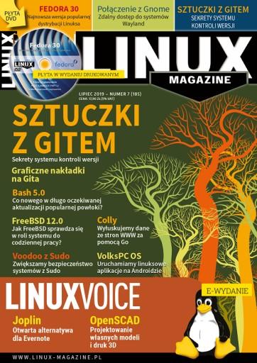 e-wydanie LinuxMagazine 7/2019 GIT Sztuczki 4LM185