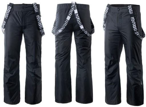 Spodnie męskie narciarskiesnowboardowe Brugi w rozmiarze XL