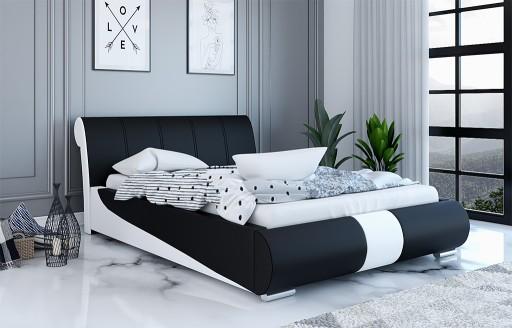 łóżko Tapicerowane Livia 160x200 Stelaż Pojemnik