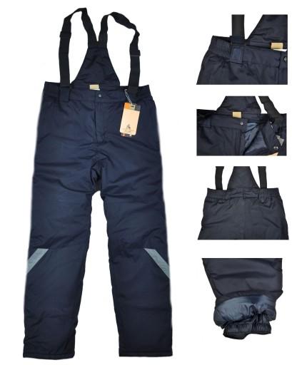 Meskie Spodnie Narciarskie Snowboardowe 865g R L 8827390176 Allegro Pl
