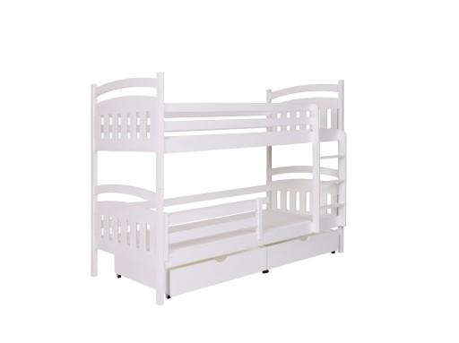 łóżko Piętrowe 2 Osobowe Denis 80x180 Materace