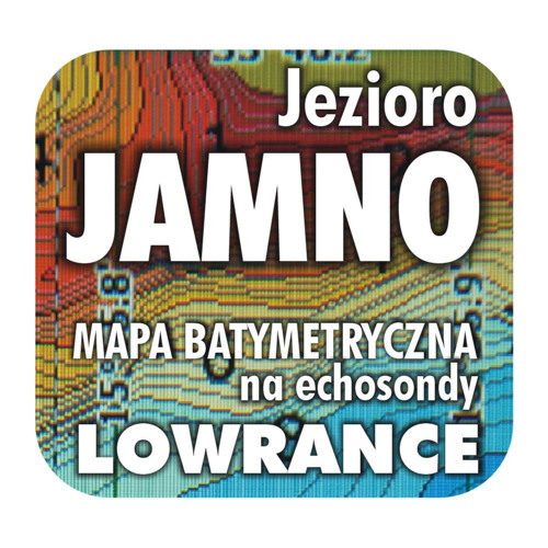 Jezioro Jamno mapa na echosondy Lowrance Simrad BG